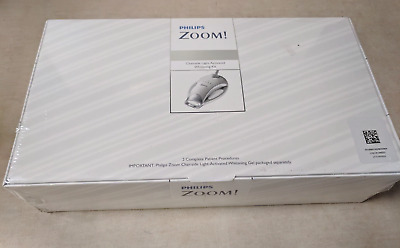 New Philips Zoom Chairside Dental Teeth Whitening 2 Complete Patient Kits