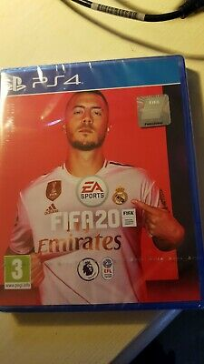 FIFA 20 (PS4) Game BRAND NEW SEALED - EDEN HAZARD REAL MADRID