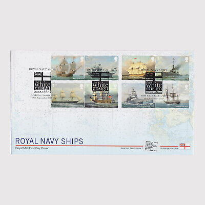 2019 Royal Navy Ships First Day Cover (FDC) - London Postmark 1
