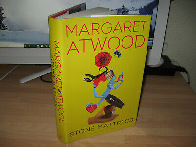 Margaret Atwood Stone Mattress Signed 1st Booker Prize Winner short stories 2014