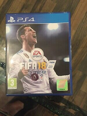 Fifa 18 Ps4 Mint Same Day Dispatch 1st Class Super Fast Delivery Free 500+ SOLD