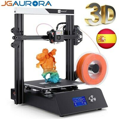 JGAURORA Impresora 3D DIY Kit Printer Prusa 150mm/s Alta Precisión 220x220x250mm