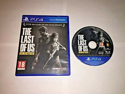 The Last Of Us Remastered - Sony Playstation 4 PS4 Game Near Mint