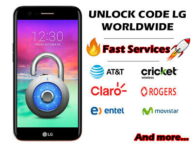 Unlock codes LG Worldwide q6/g7/k10/k4/g5/k8 and more Fast service