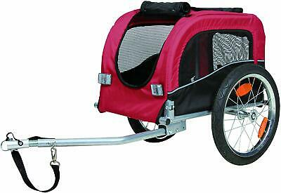 Small Dog Bike Trailer Puppy Pet Cycle Transport & Lead Elderly Infirm Pets
