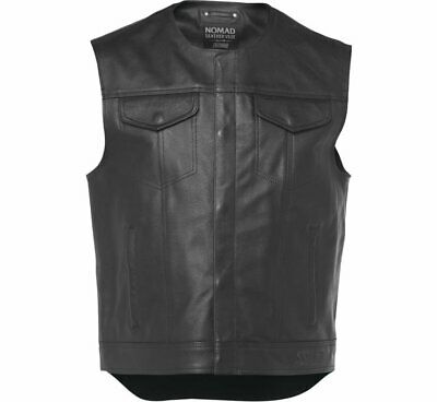 NEW S&S Men's Nomad Leather Vest