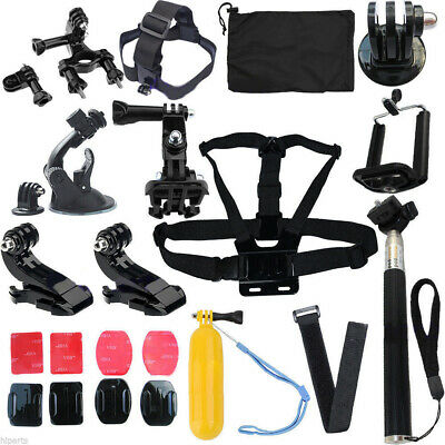 Head Strap Mount Floating Monopod Combo Kit Accessories For GoPro 2 3 4 /ND