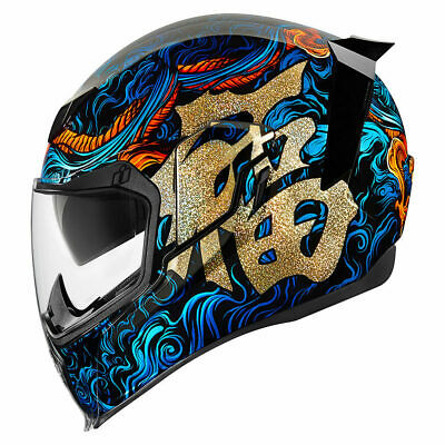 New Icon Airflite Good Fortune Helmet All Sizes