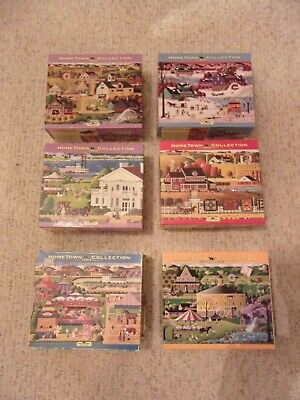 12 Heronim Hometown Collection Puzzles Assorted Complete