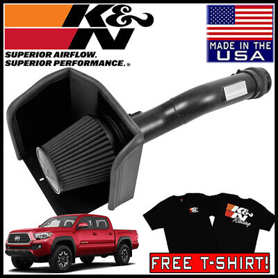 K/&N 71-9039 COLD AIR INTAKE FOR 2016-2018 TOYOTA TACOMA 3.5L V6 FUEL INJECTION
