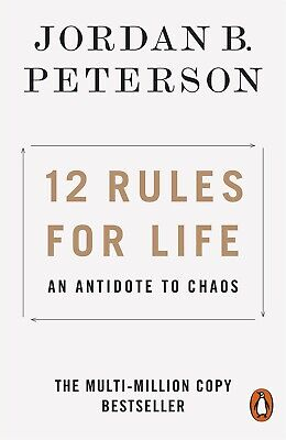 NEW 12 Rules for Life 2019 by Jordan B. Peterson -Paperback Book - FREE SHIPPING