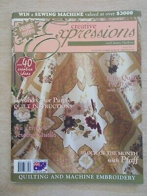Creative Expressions with Jenny Haskins #1~Lace Jackets~Beyond Colour Purple...
