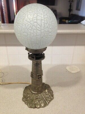 Vintage Lighthouse Table Lamp.