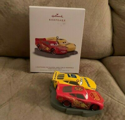 Hallmark Keepsake Disney/Pixar Cars 3 Movie Christmas Tree Ornament  2018