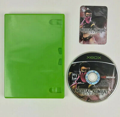 Mortal Kombat: Deception Kollector's Edition Mileena XBOX Disc Card Case Bundle