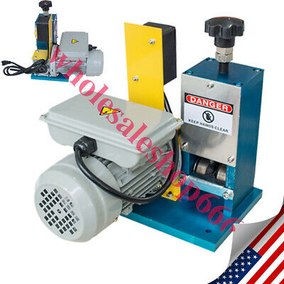 New Powered Electric Wire Stripping Machine Metal Tool Scrap Cable Stripper A+