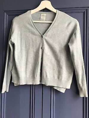 Zara girls grey cardigan 9-10 years old in excellent conditions