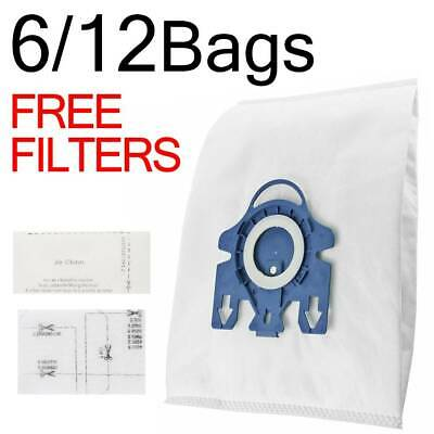 12X Vacuum Cleaner Bags For Miele GN G/N Blue 3D Type Fits Cat n dog S5311 5000`