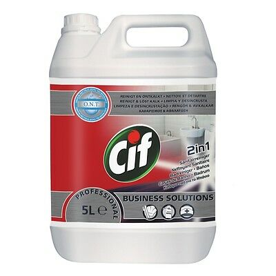 Cif Professional Bathroom 2 in1, Concentrate, 5L