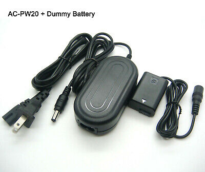 7.6V AC Adapter Power Charger For Sony Alpha NEX-6 L NEX-7 K NEX-C3 A NEX-C3A/S