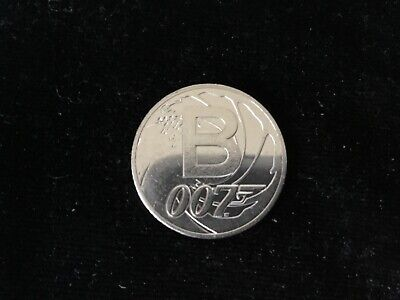 2018 B JAMES BOND  A-Z 10p  Circulated Coin from a Sealed Bag