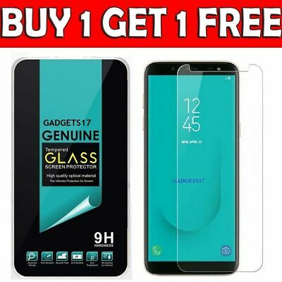 Tempered Glass Screen Protector Film For Samsung Galaxy A3 A5 J3 J5 J6