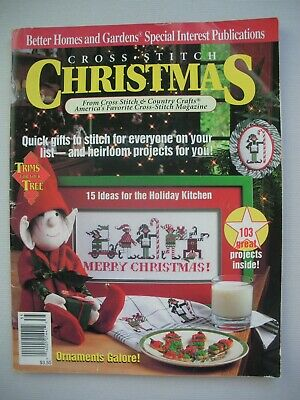 Cross Stitch Christmas - Better Homes & Gardens - Pattern Book - 103 Projects