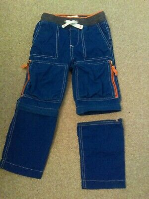 Boden Zip Off Trousers Age 3 Years