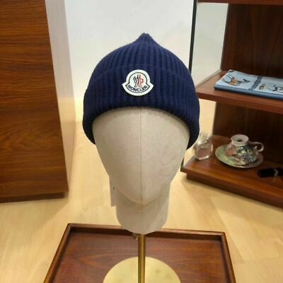 moncler  style adult unisex warm woolly winter hat Beanie Cap Hat One Size