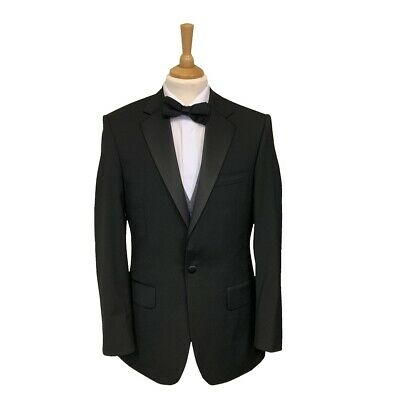 Mens Black Evening/Tuxedo Cruise/Ball/Party Notch Lapel Dinner Jacket