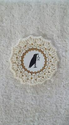 10 Simplify Crow /& Pipberry Wreath Primitive Hang Tags Scrapbooking 69