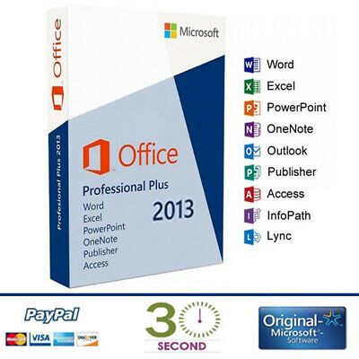 Office 2013 Professional Plus Key 32/64 Bit - Licenza Esd - 100% Originale