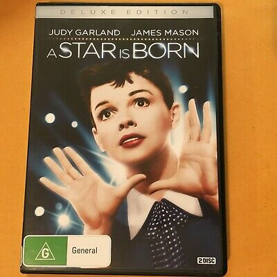 A Star Is Born Deluxe Edition (1954) - Dvd 2 Discs - Judy Garland - R4 - Vgc