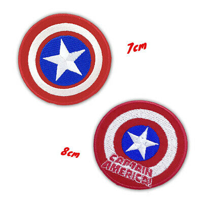 Captain America Marvel Avengers Embroidered Iron or Sew on Patch #29