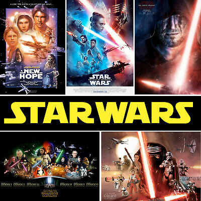 STAR WARS Posters With Rise Of Skywalker upto A1 Size  BUY 2 GET 2 FREE
