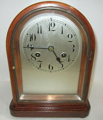 Antique Junghans Bracket Clock 8-Day, Time/Strike, Key wind