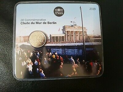 2 euro commémorative France 2019 BU - Chute du Mur de Berlin