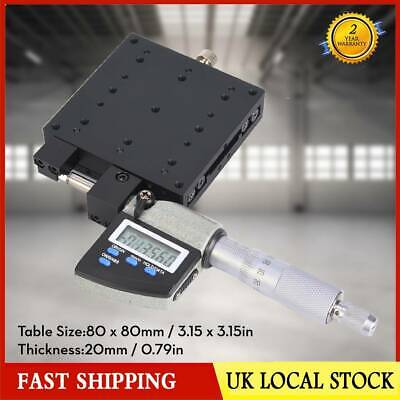SEMXYZL80-AS High Accuracy Cross Roller Micro Linear Stages Digital Displayed