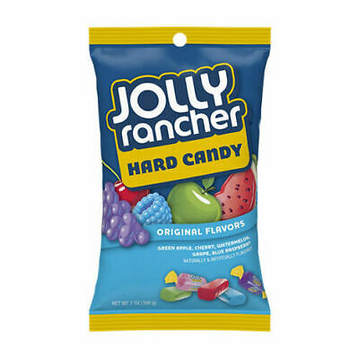 Jolly Rancher Original Flavours Hard Candy American Sweets USA Imported 3 OZ bag