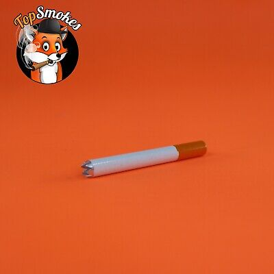 3 Inch Cigarette Hand Pipe One Hitter Metal Tobacco Smoking Dugout USA Seller