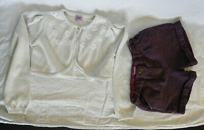 Girls Job Lot of 2 Clothes F&F Age 5-6 Years