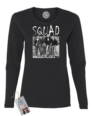 Golden Girls Squad Gang TV Show Womens Long Sleeve Shirt