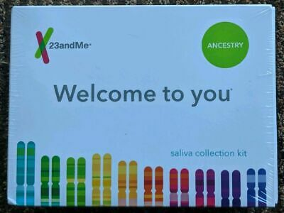 23andMe DNA Genetic Test + Ancestry Personal Lab New! Expiration 5-30-21