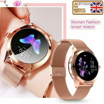 Smart Watch Women Ladies Wristband Fitness Tracker Heart Rate For iOS Android UK