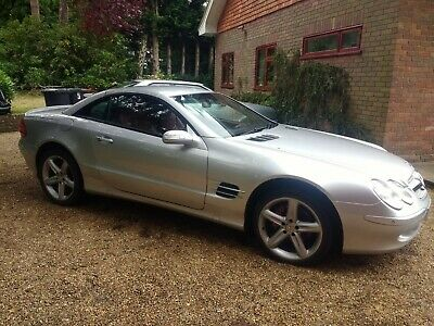 2003 Mercedes Benz SL 350 with MOT drive away project spares repairs