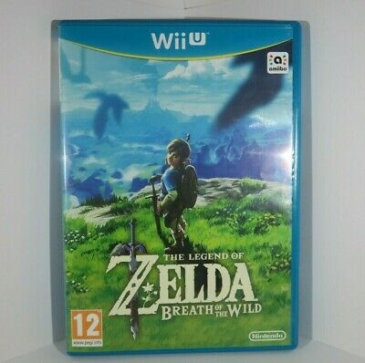 The Legend of Zelda Breath of The Wild - Wii U *Pre Owned*