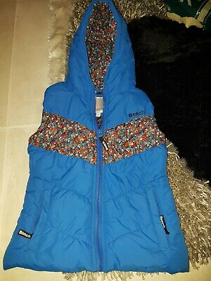 Girls padded Gillet by Bench - aged 7/8 yrs