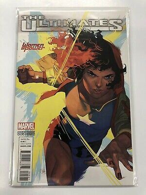 The Ultimates #5 Woman Of Power Variant Cover. Bagged & Boarded