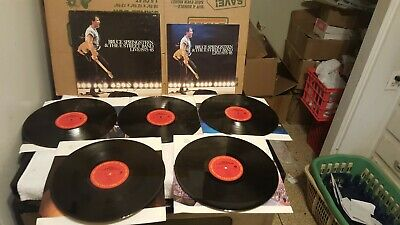 1986 Bruce Springsteen & The E Street Band Live 1975-85 5 Lp Boxset With Booklet