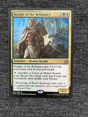 Gold MM13 Modern Masters 2013 Mtg Magic Rare 1x x1 1 Knight of the Reliquary